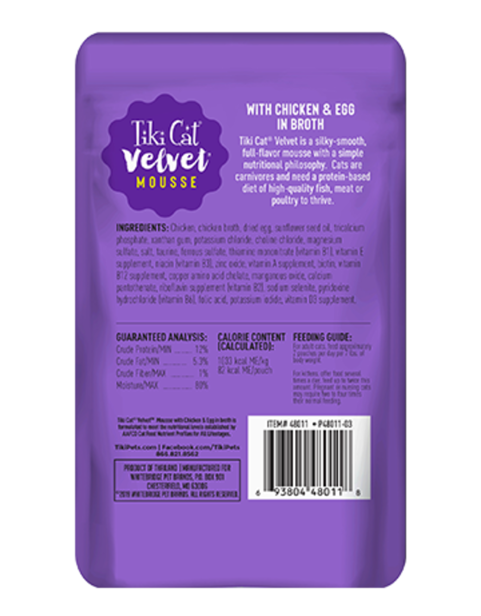 Tiki Cat Tiki Cat Velvet Food Pouches