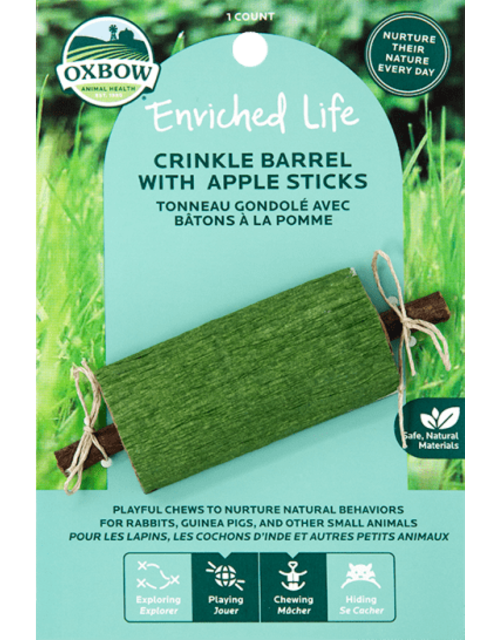 Oxbow Oxbow Enriched Life Crinkle Barrel Apple Sticks