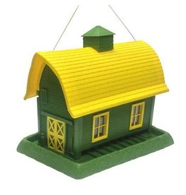 My Pet MY PET LARGE BARN BIRD FEEDER YELLOW/GREEN
