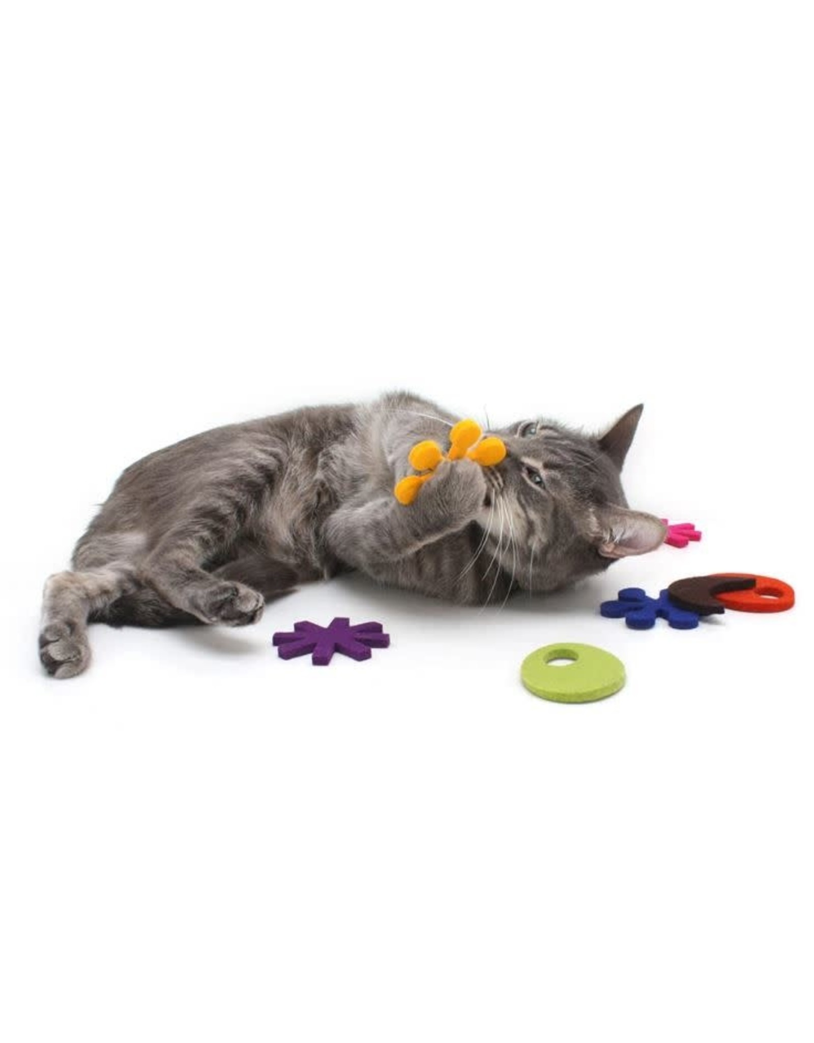 HAUS PANTHER ATOMIC FLYERS CAT TOYS ZEST