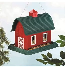 My Pet MY PET LARGE BARN BIRD FEEDER RED/GREEN