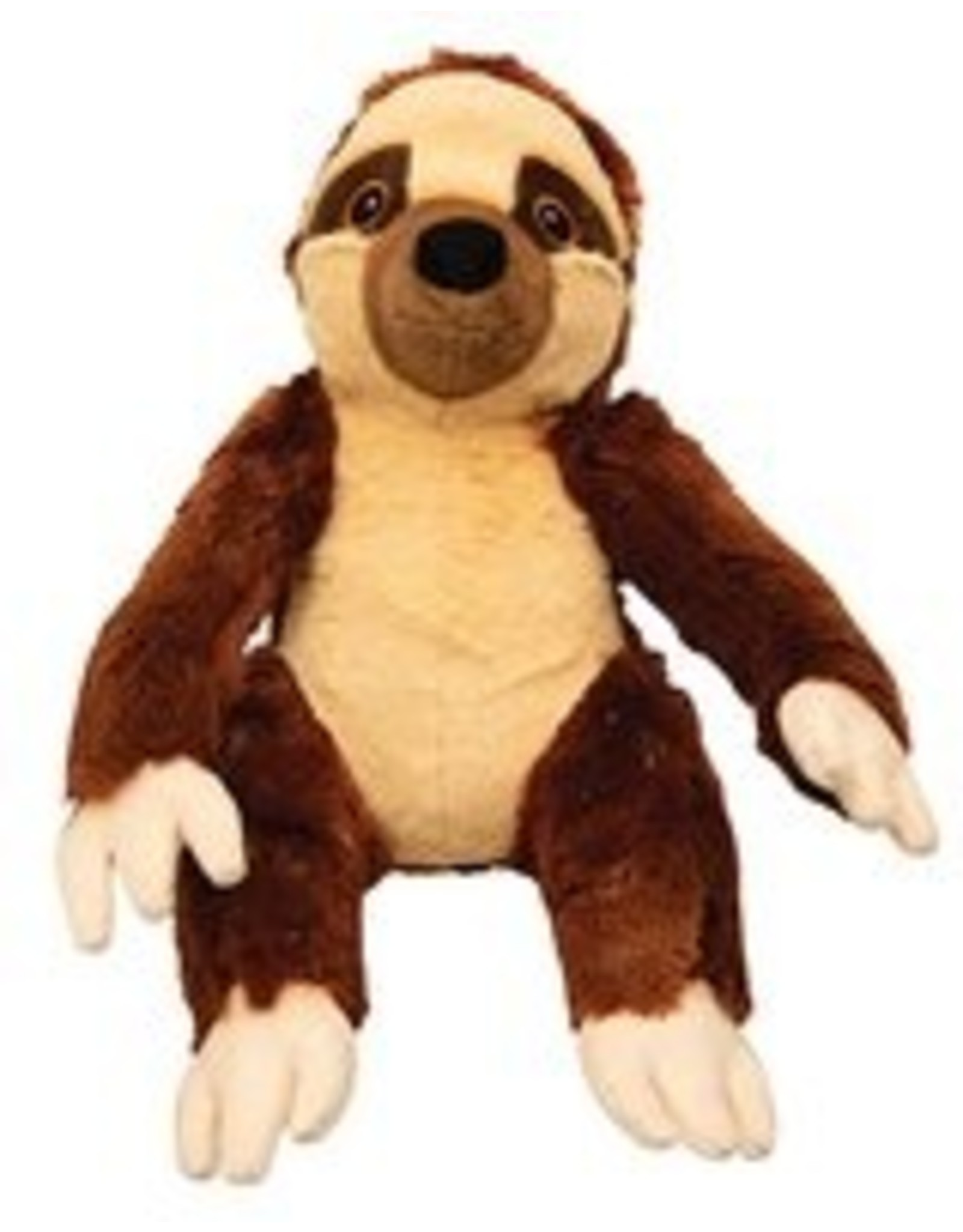 SNUGGAROOZ SNUGAROOZ Sasha the Sloth Plush Dog Toy 11""