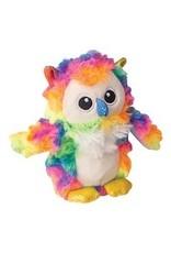 """SNUGGAROOZ SNUGAROOZ Baby Hootie Owl Plush Dog Toy 5"""""""