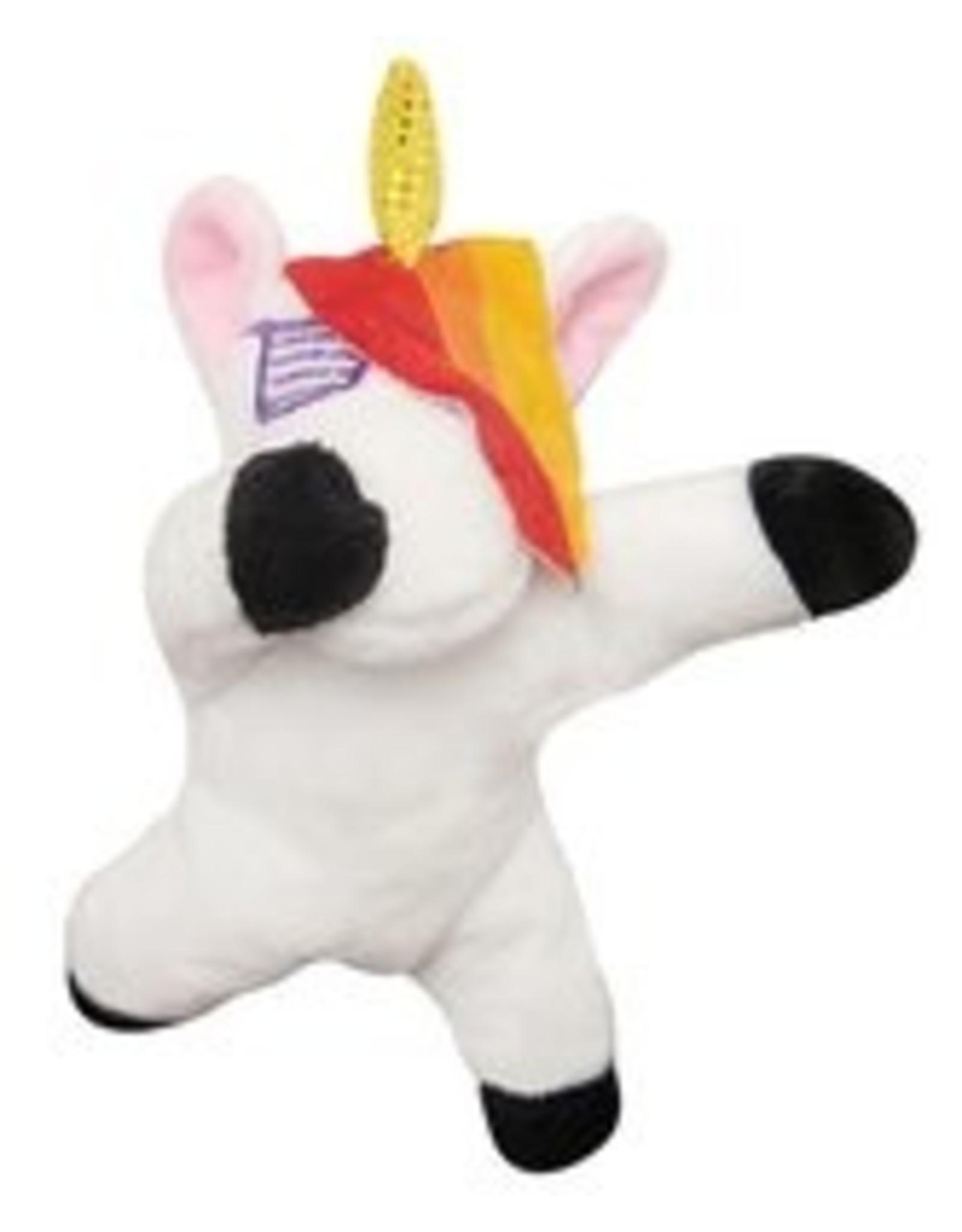 """SNUGGAROOZ SNUGAROOZ Baby DAB Unicorn Plush Dog Toy 5"""""""