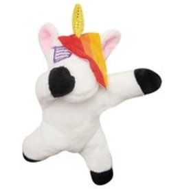 SNUGGAROOZ SNUGAROOZ Baby DAB Unicorn Plush Dog Toy 5""