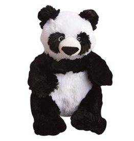 SNUGGAROOZ SNUGAROOZ Amanda the Panda Plush Dog Toy 11""