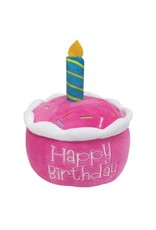 "Fou Fou Dog Foufit Birthday Cake Toy Pink 6"""