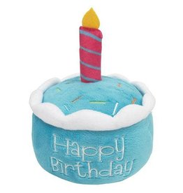Fou Fou Dog Foufit Birthday Cake Toy Blue
