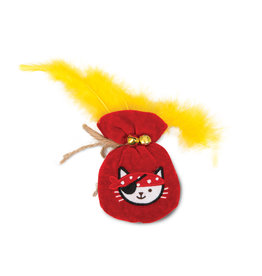 CT - Catit 2.0 CT Play Pirate Catnip Toy, Pouch of Gold