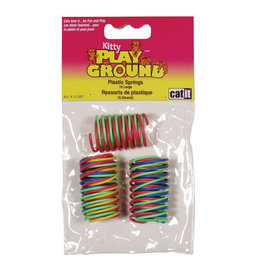 CA - Catit Catit Kitty Play Ground Plastic Spring 10 large