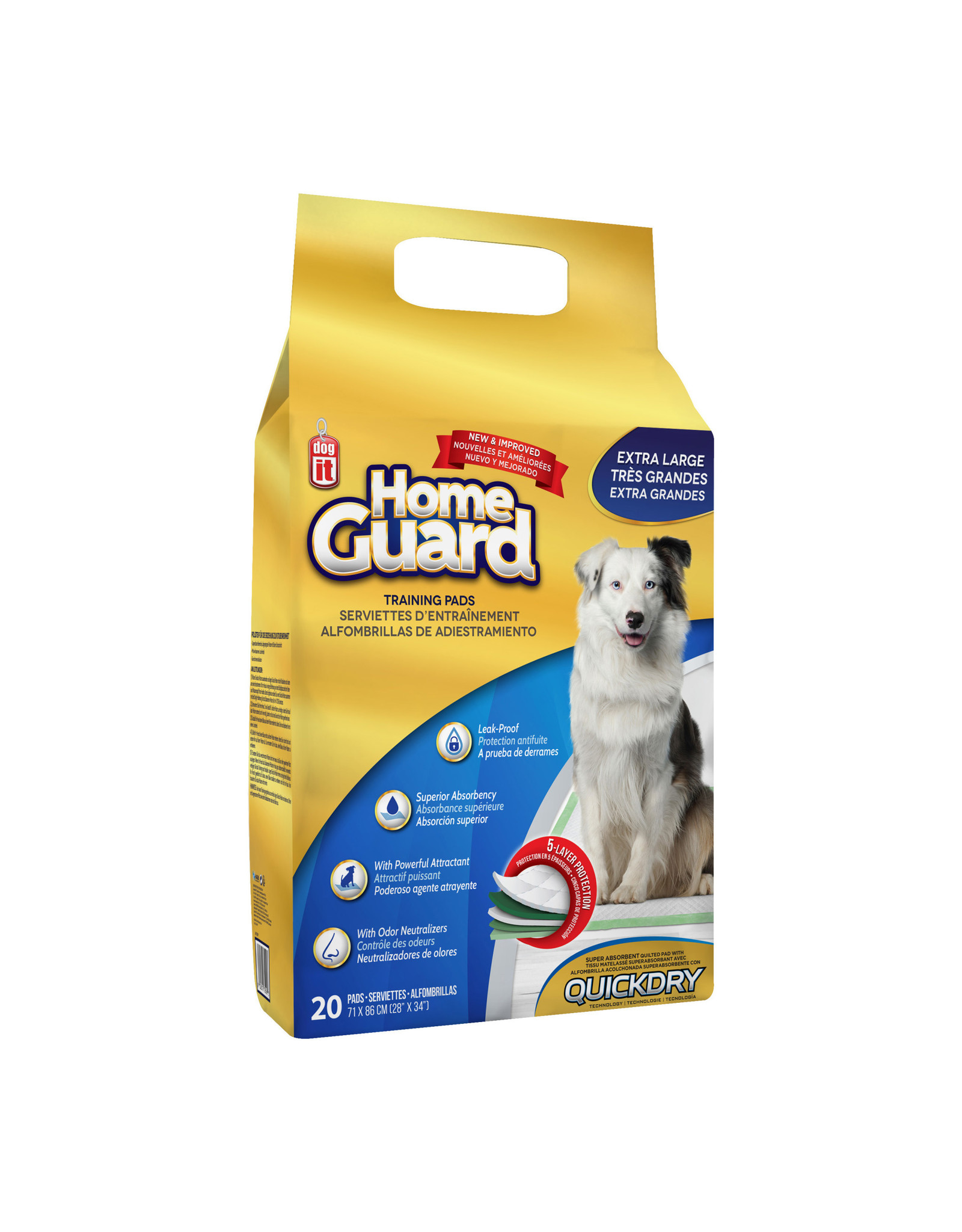 DO - Dogit Dogit Home Guard Pads X-Large 20pk