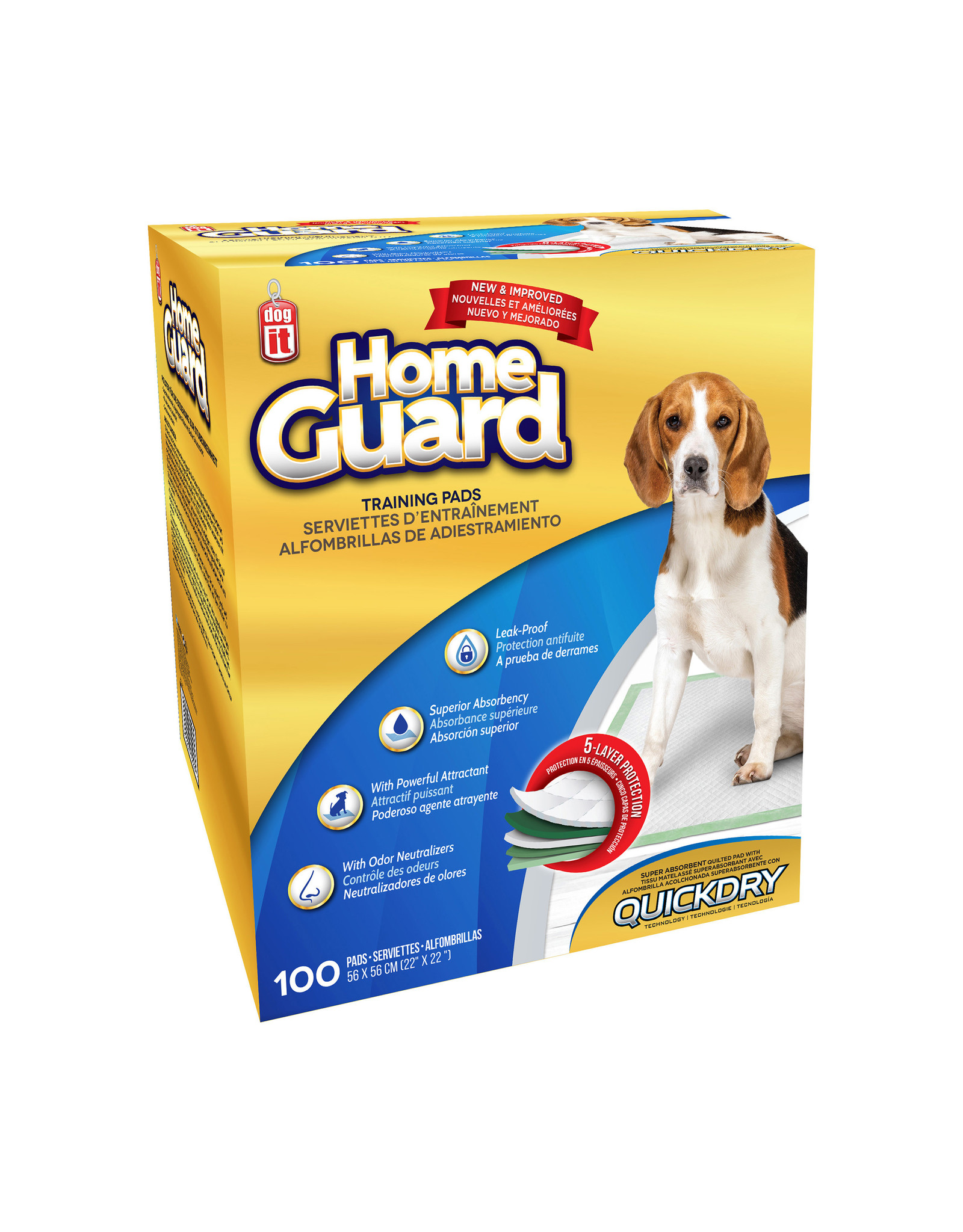 DO - Dogit Dogit Home Guard Training Pads 22x22""
