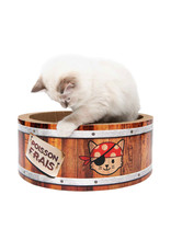 CA - Catit Catit Play Pirates Barrel Scratcher with Catnip