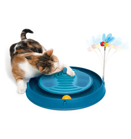 CT - Catit 2.0 CA Play - Massager, Bee, and Ball-Blue