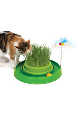 CA - Catit Catit Play 3 in 1 Circuit Ball Toy with Cat Grass