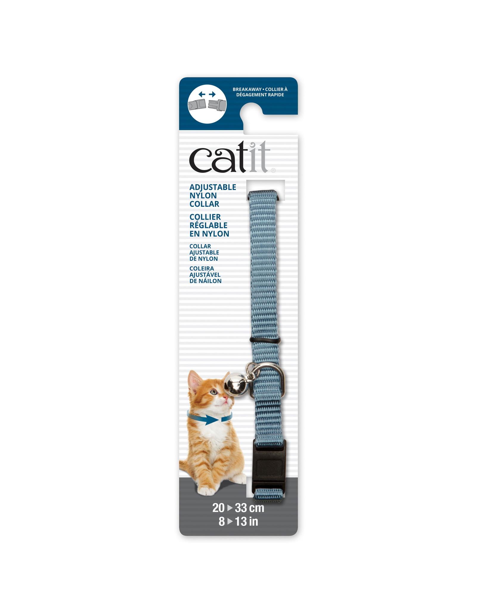 CA - Catit Catit Adjustable Breakaway Nylon Collar Plain