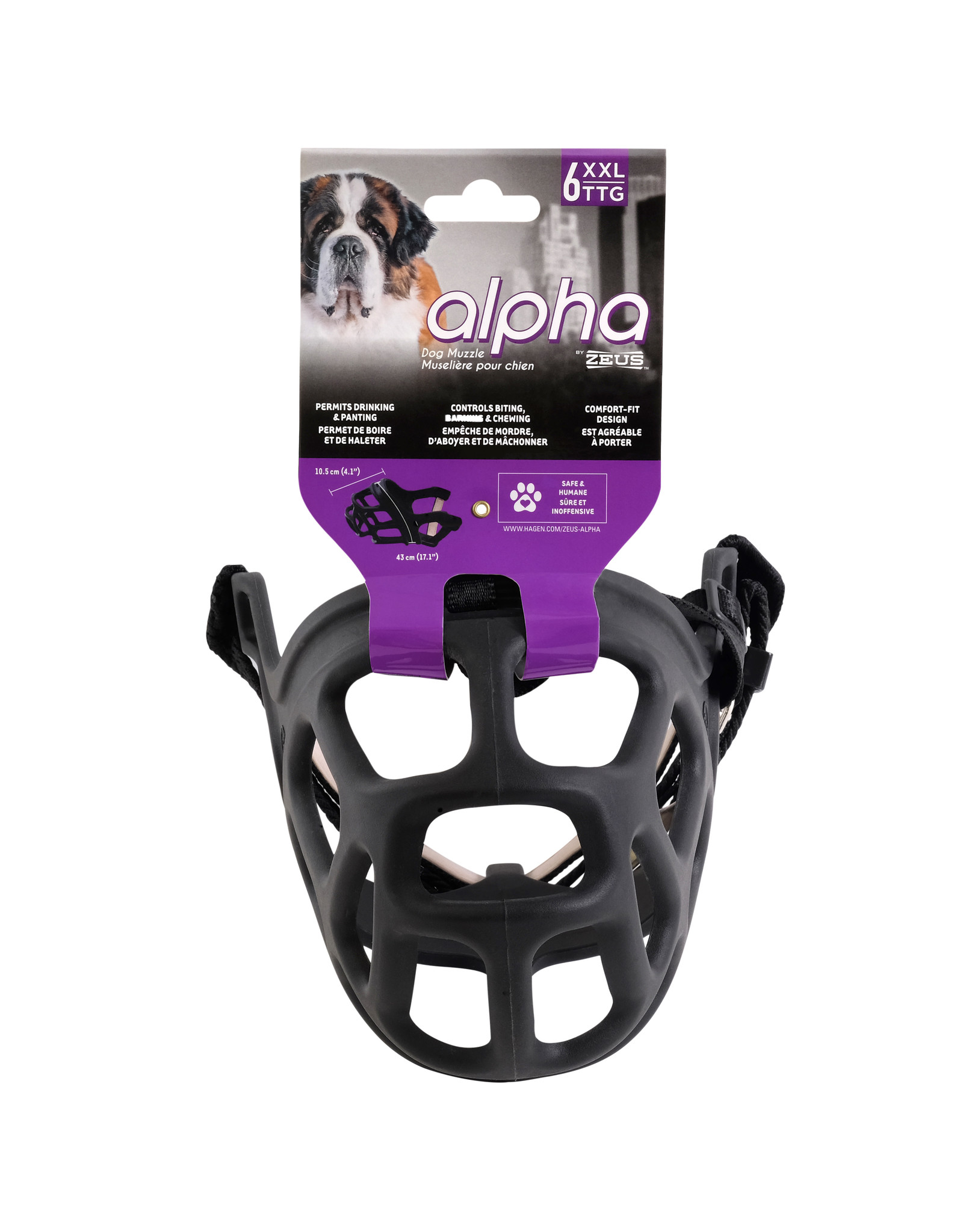 ZS - Zeus Alpha by Zeus Dog Muzzle