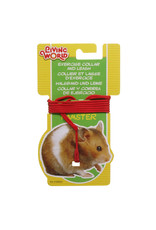 LW - Living World LW Hamster Adjust.Collar & Leadset,Red