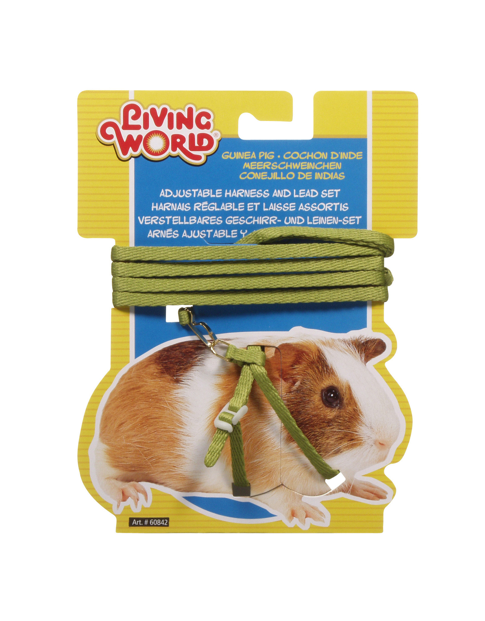 LW - Living World Living World Figure 8 Harness and Lead Set For Guinea Pigs