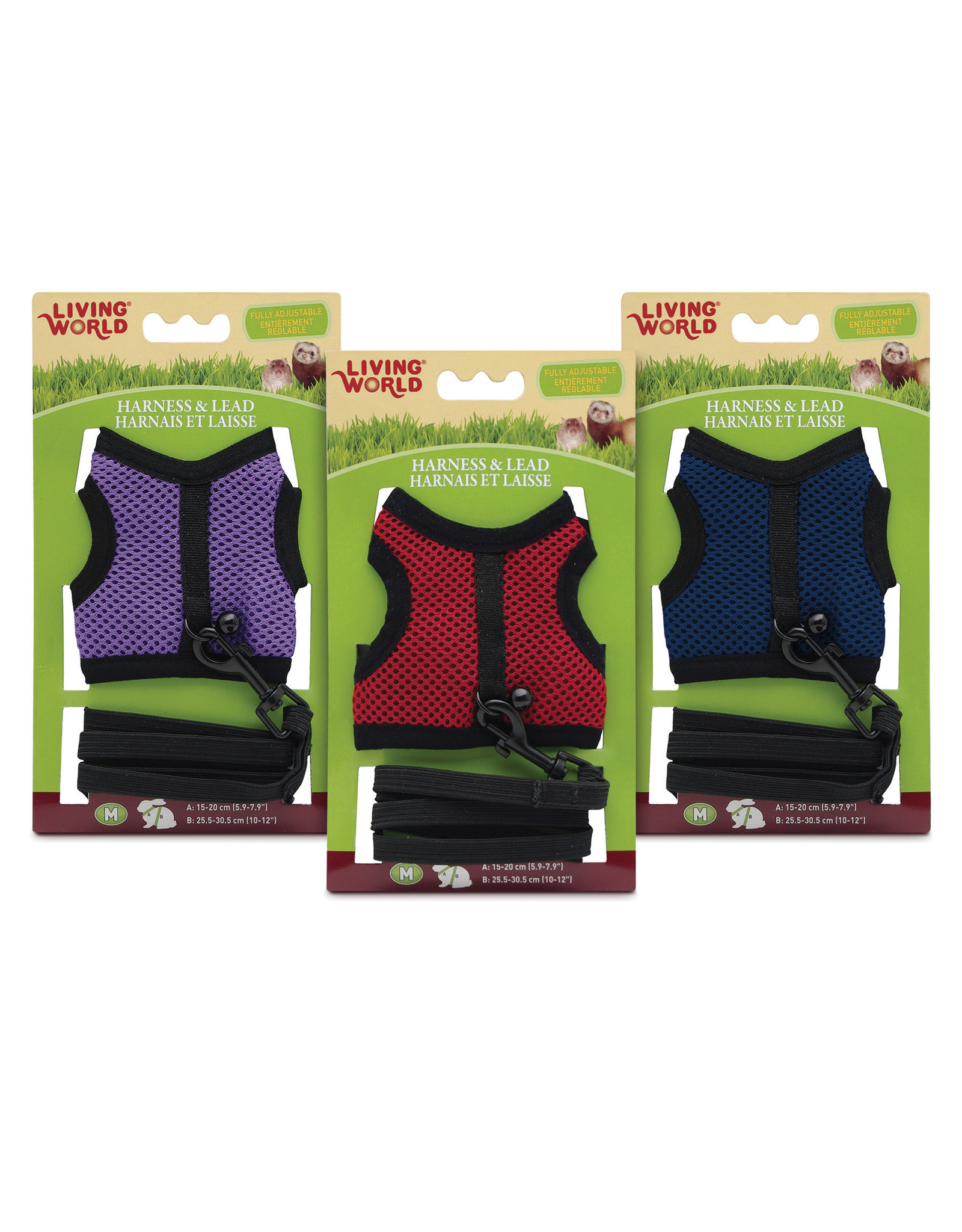 LW - Living World Living World Small Harness and Lead Set (Assorted Colours)