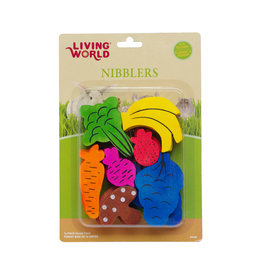 LW - Living World LW Nibblers Wood Chews - Fruit/Veggie Mix