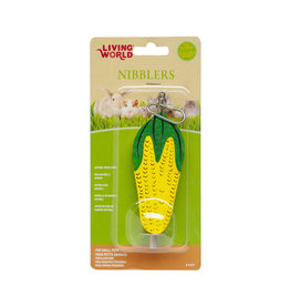 LW - Living World LW Nibblers Wood Chews-Corn Cob on Stick