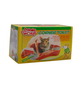 LW - Living World Living World Corner Toilet for Hamsters and Gerbils