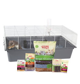 LW - Living World Living World Rat Starter Kit - 78 cm L x 48 cm W x 31 cm H (30.7in x 18.9in x 12.2in)