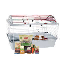 LW - Living World Living World Deluxe Guinea Pig Starter Kit - 78 cm L x 48 cm W x 50 cm H (30.7in x 18.9in x 19.7in)