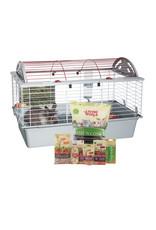 LW - Living World Living World Deluxe Rabbit Starter Kit - 78 cm L x 48 cm W x 50 cm H (30.7in x 18.9in x 19.7in)
