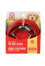 DO - Dogit Dogit Pet Tether Dog Tie-out Cable - Large - 9 m (30 ft)
