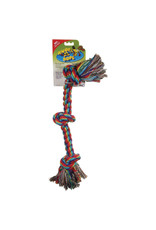 DO - Dogit Dogit Knot-A-Rope Tug Toy - Multicolor - XXL - 3.5 cm x 62.5 cm (1.35 x 24)