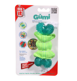 ZS - Zeus Zeus Gumi Dental Dog Toy - Spin & Clean - Small