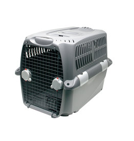 DO - Dogit Dogit Design Cargo Dog Carrier - Gray - Medium - 80 cm L x 56 cm W x 58 cm H (31.5in x 22in x 23in)