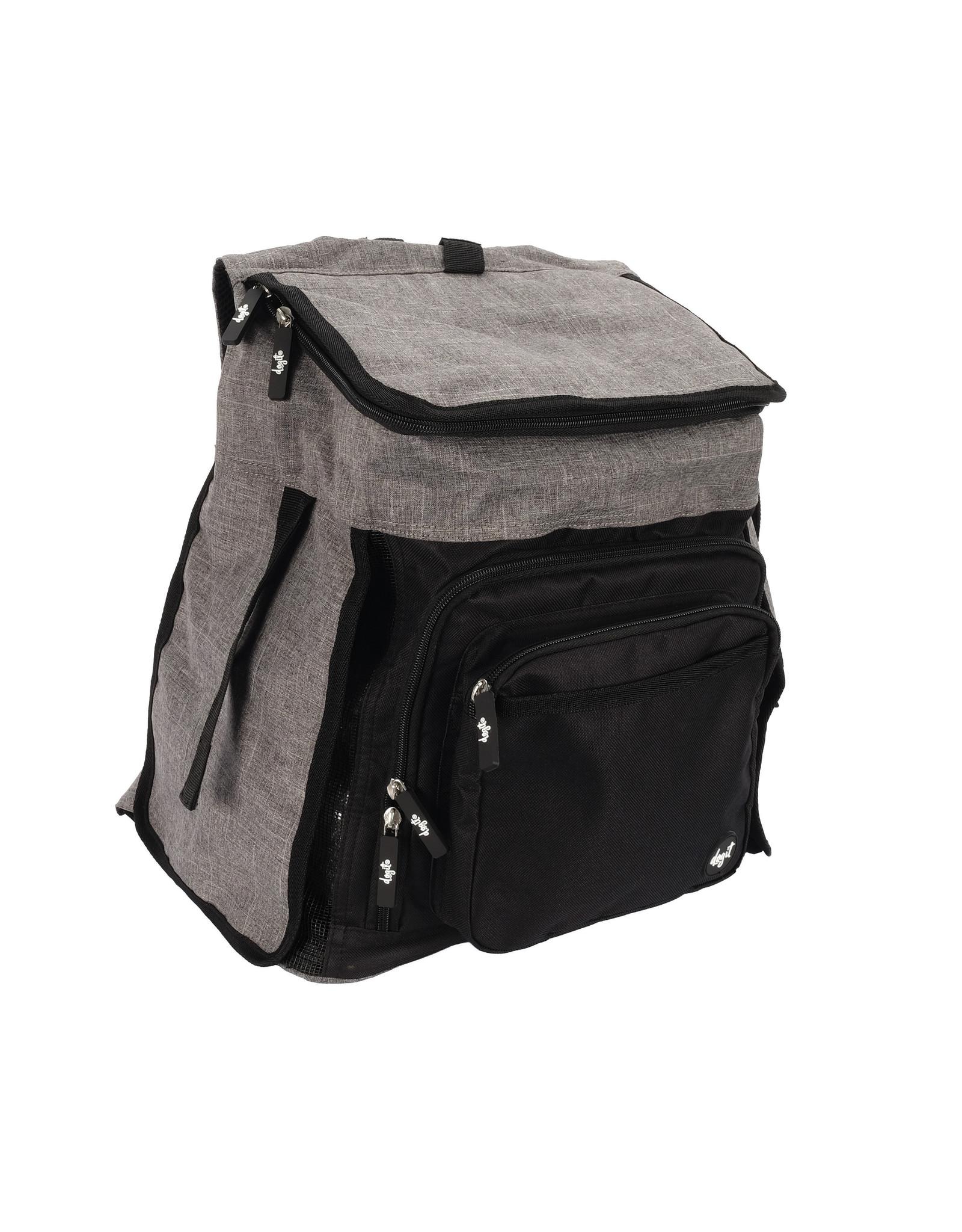 DO - Dogit Dogit Explorer Soft Carrier Backpack Carrier - Gray