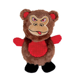 DO - Dogit Dogit Stuffies Dog Toy – Flat Friend - Monkey - 19 cm (7.5 in)