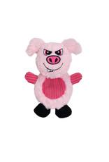 DO - Dogit Dogit Stuffies Dog Toy – Flat Friend - Pig - 19 cm