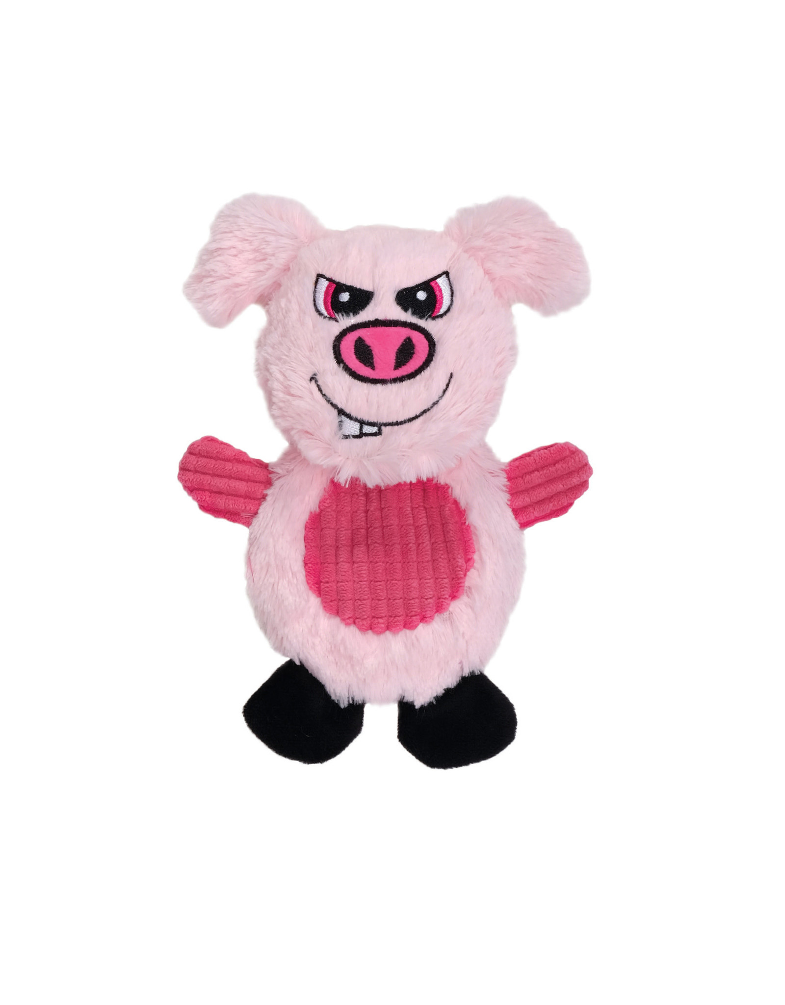 DO - Dogit Dogit Stuffies Dog Toy – Flat Friend - Pig - 19 cm