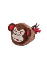 DO - Dogit Dogit Stuffies Dog Toy – Big Head Friend - Monkey - 23 cm (9 in)