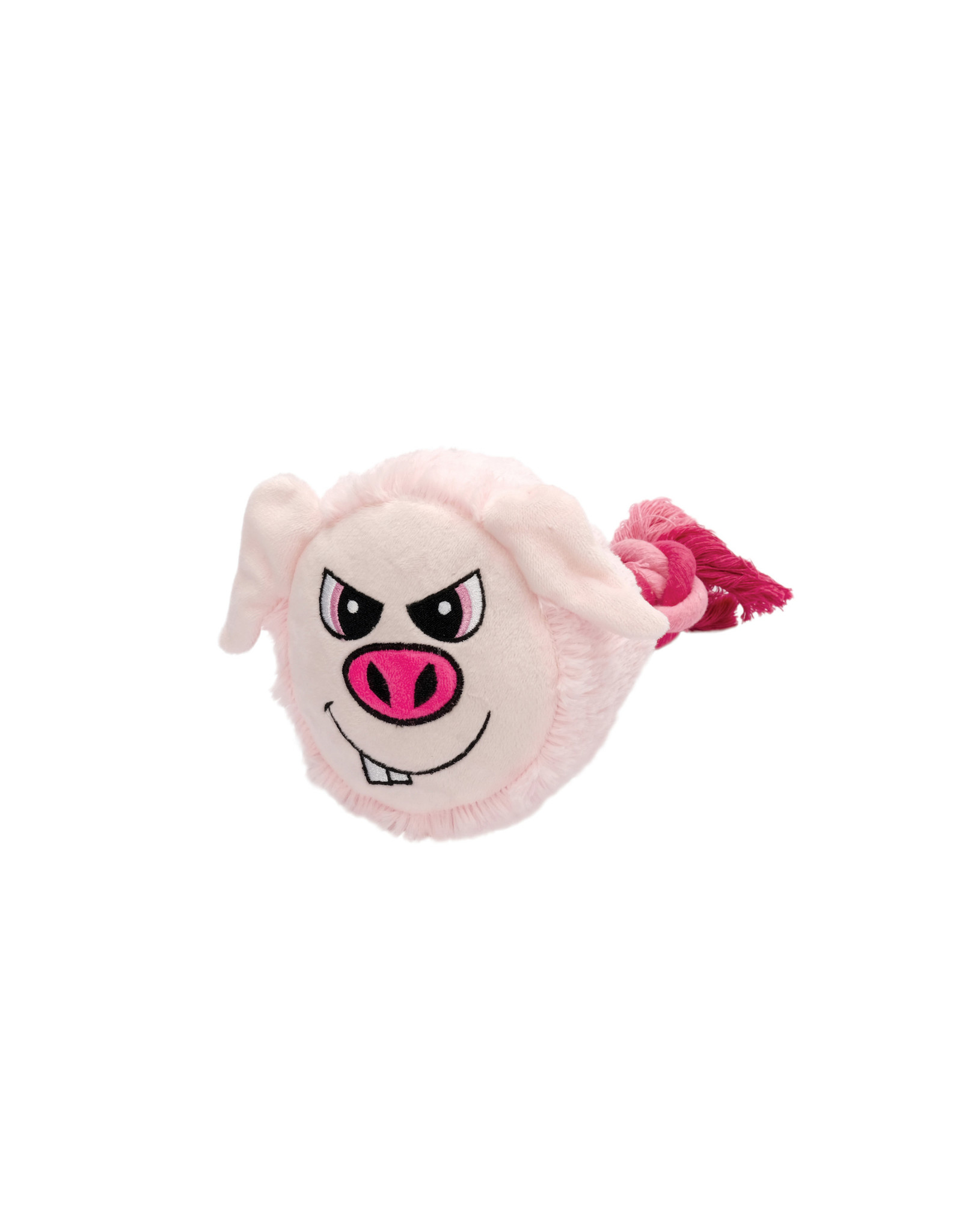 DO - Dogit Dogit Stuffies Dog Toy – Big Head Friend - Pig - 23 cm (9 in)
