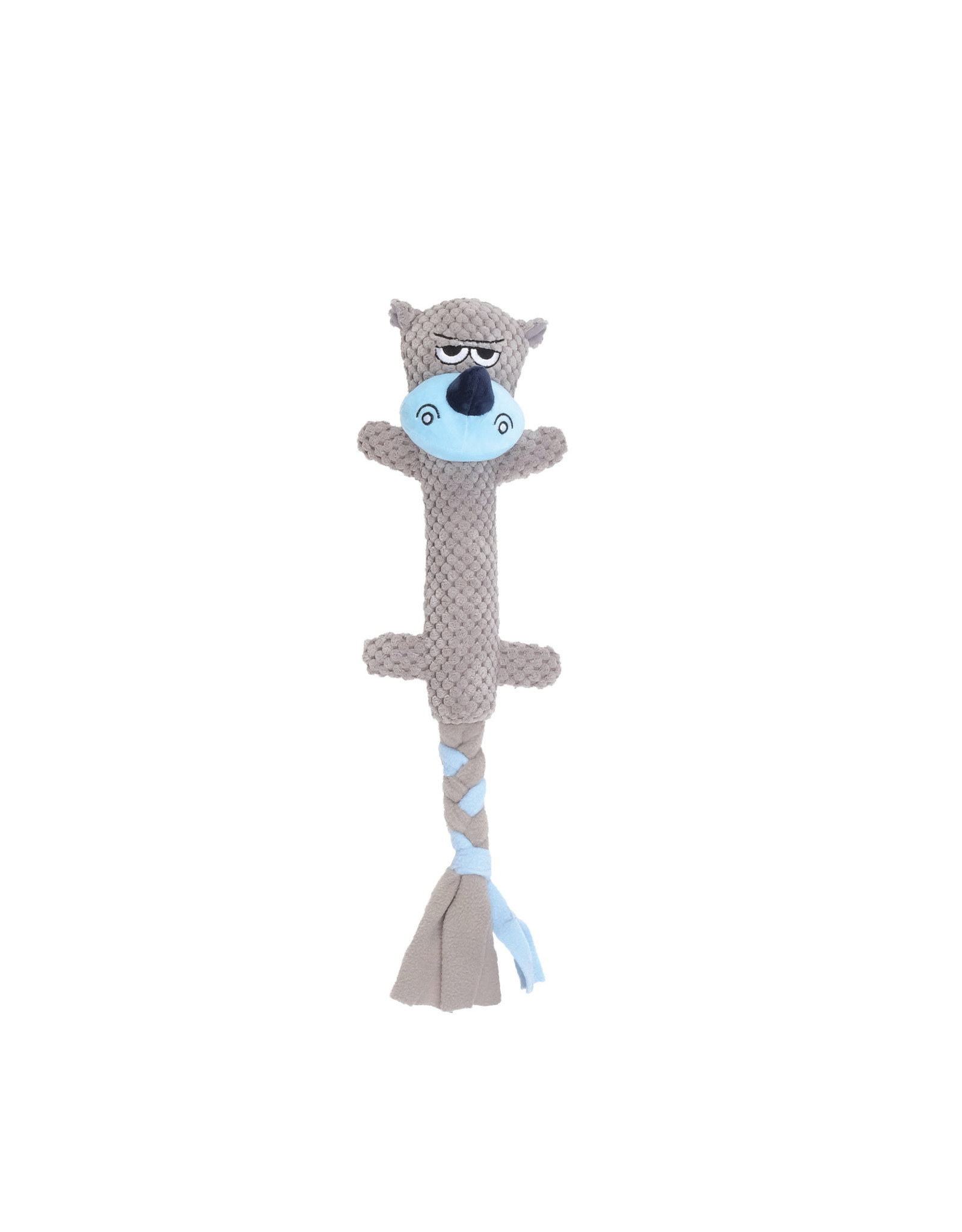 DO - Dogit Dogit Stuffies Dog Toy – Branch Friend - Rhino - 44 cm (17.5 in)
