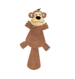 DO - Dogit Dogit Stuffies Dog Toy – XL Flat Friend - Monkey - 49 cm (19.5 in)