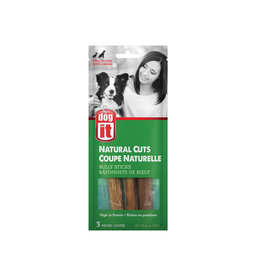 DO - Dogit Dogit Natural Cuts Bully Sticks - Straight - 12.7-15.2 cm (5-6in) - 3 pack