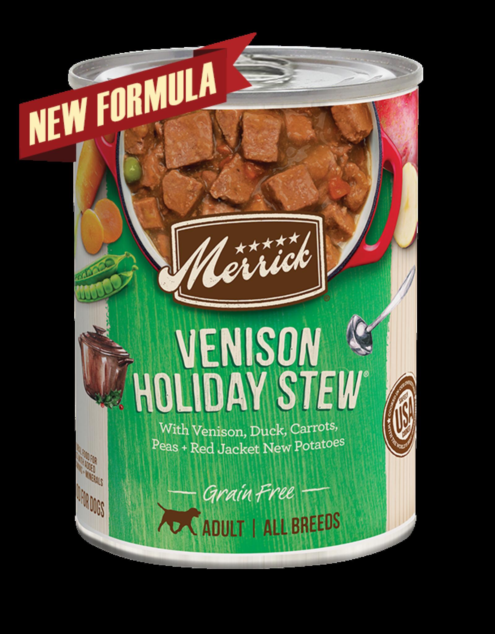 Merrick Merrick Dog Venison Holiday Stew 12oz