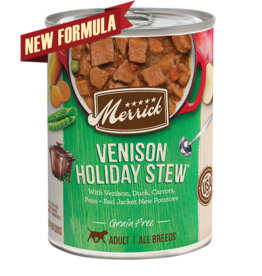 Merrick Merrick Dog Venison Holiday Stew 12oz