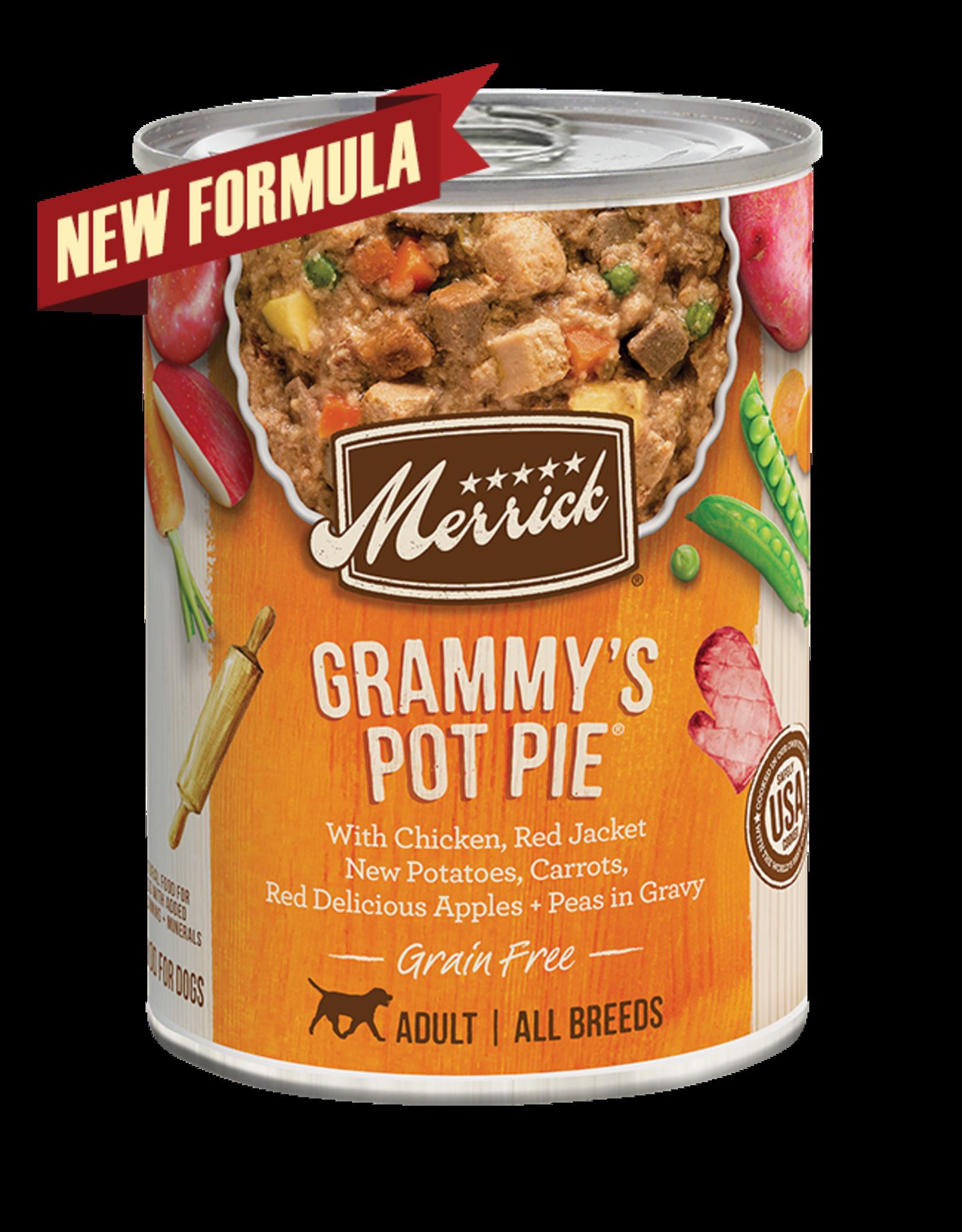 Merrick Merrick Dog Grammy's Pot Pie 12oz