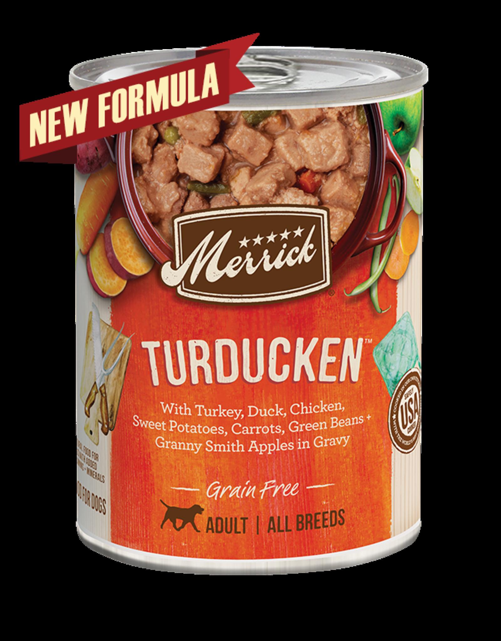 Merrick Merrick Dog Turducken 12oz