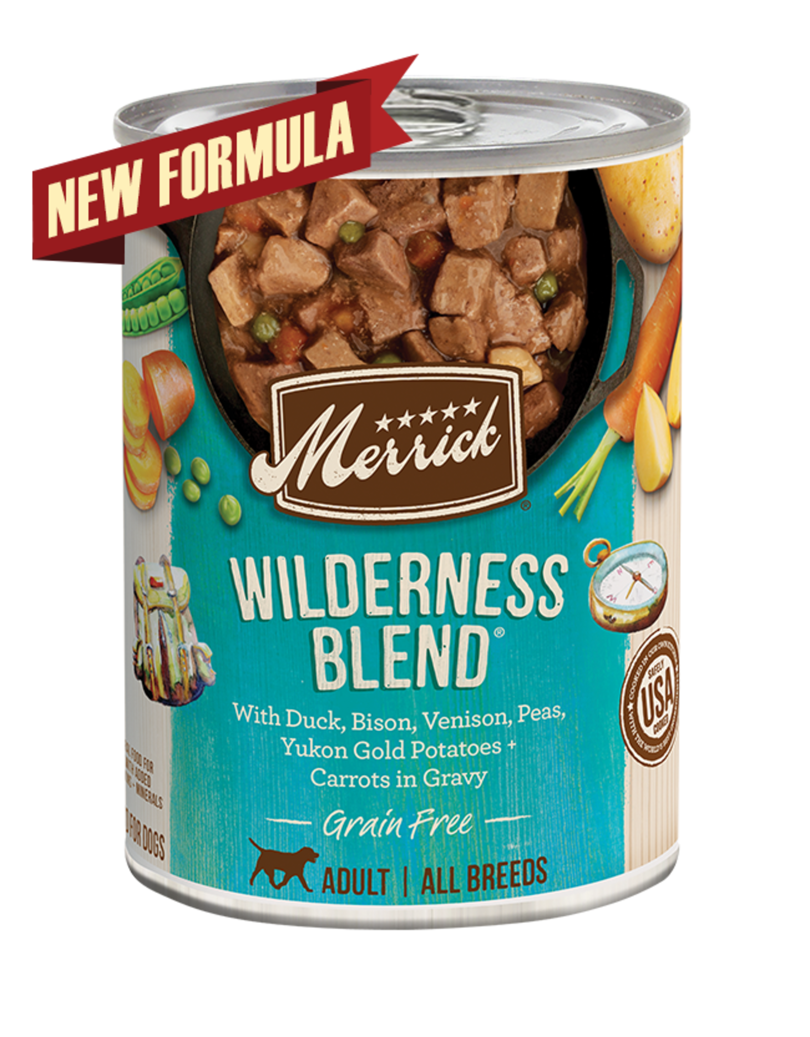 Merrick Merrick Dog Wilderness Blend 12oz