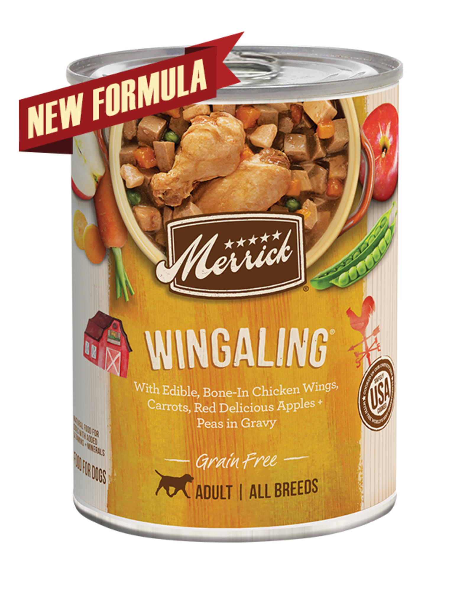 Merrick Merrick Dog Wingaling 12oz