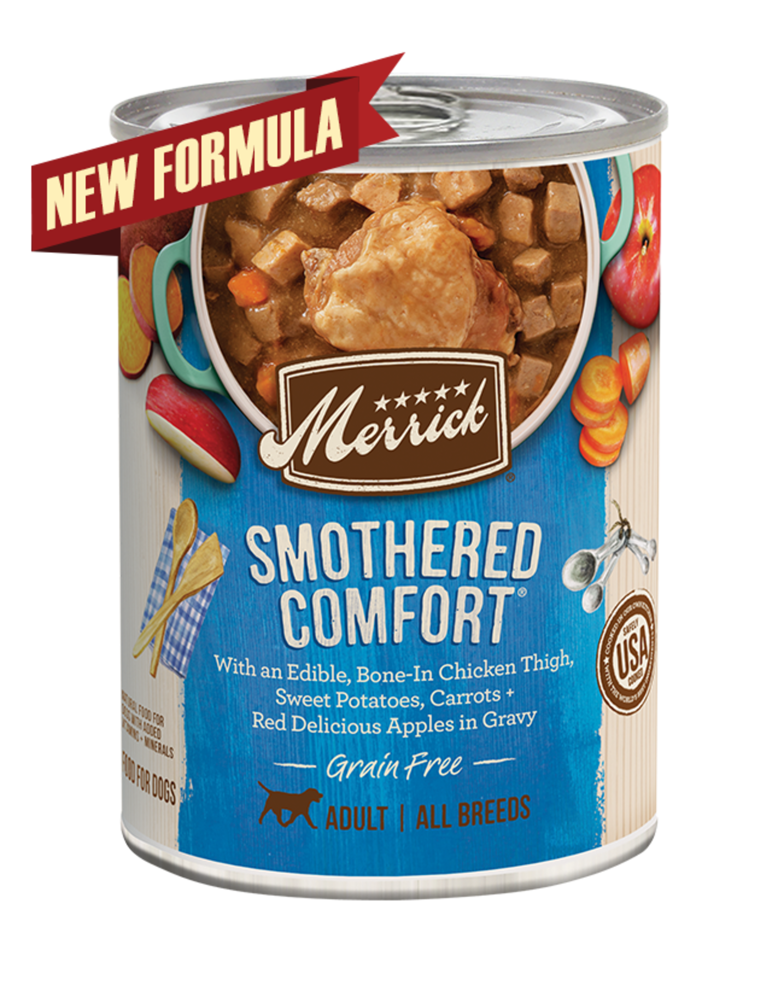 Merrick Merrick Dog Smothered Comfort 12oz